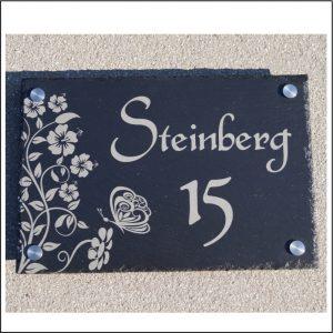 Schieferhausnummer